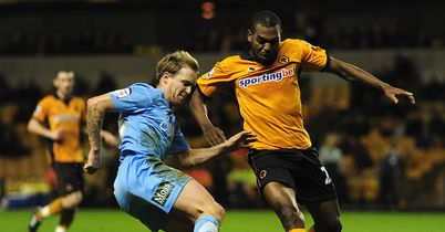 Ronald Zubar in action while at Wolves