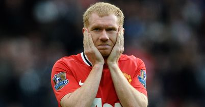 Scholes: facing the exit door?