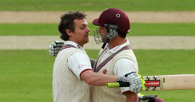 Peter Trego and James Hildreth: finished run chase for Somerset with 166-run stand