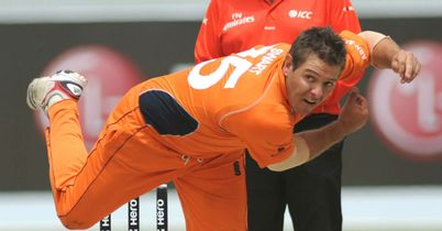 Michael Swart: Opening batsman top scored with 61 for the Netherlands