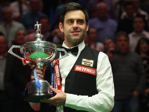 Ronnie O&#39;Sullivan was world champion for the fourth time