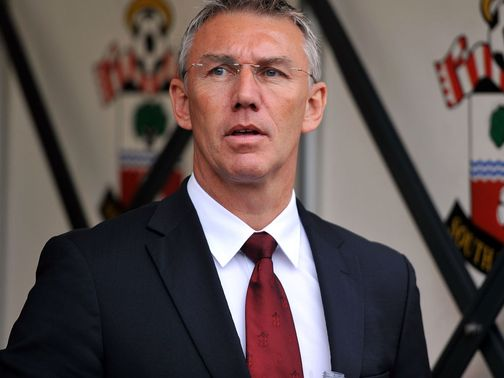Nigel Adkins: In confident mood
