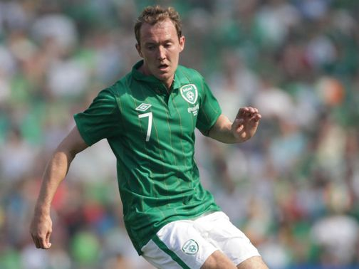 Aiden McGeady: Ankle injury