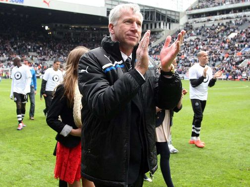 Alan Pardew: Looking to bolster Newcastle squad