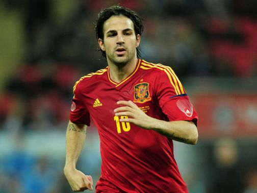 Cesc Fabregas: Could return for Italy clash