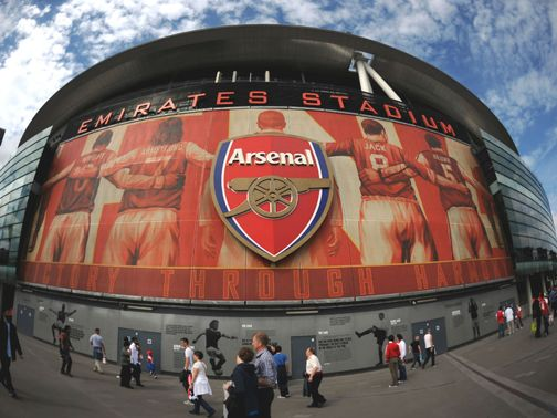 The Emirates: Preparing for north London derby