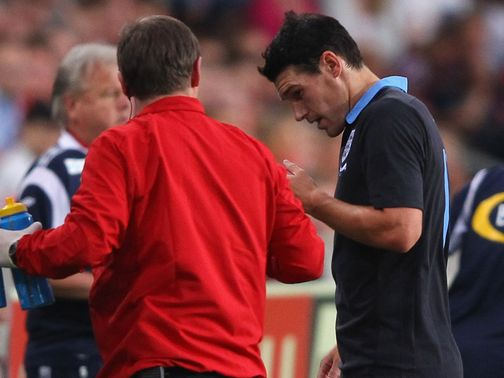 Gareth Barry: Will have scan on Monday