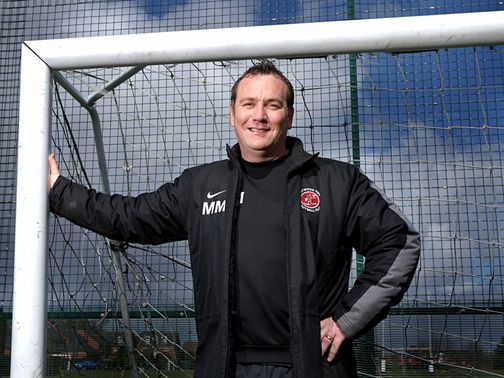 Micky Mellon&#39;s Fleetwood can claim three points.