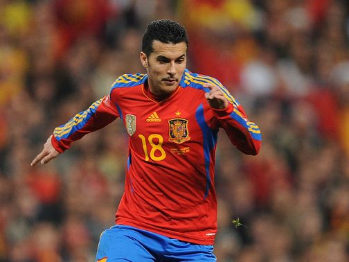 Pedro: Geared up for France clash