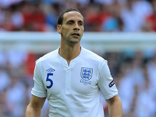 Rio Ferdinand: Not set to be part of England's squad
