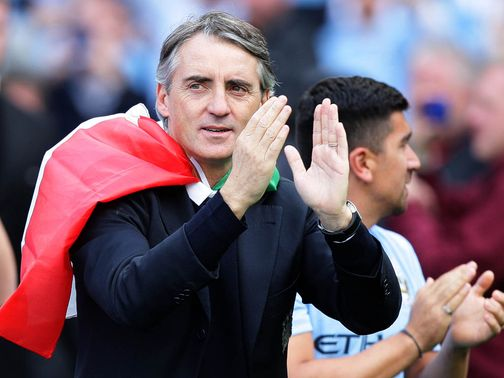 Roberto Mancini: Refusing to give anything away