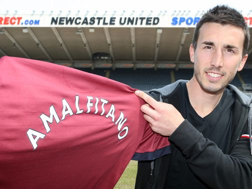 Romain Amalfitano: Newcastle have my winning mentality