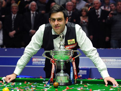 Ronnie O'Sullivan: Taking a break from snooker