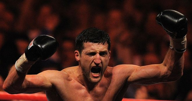 Carl Froch: Set for a November defence of his IBF World super middleweight title