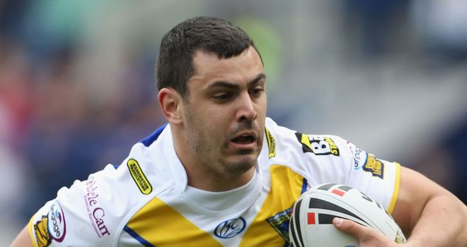 Rhys Williams: Delighted with new contract at Warrington