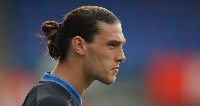 Andy Carroll: Will start for England against Sweden in Kiev