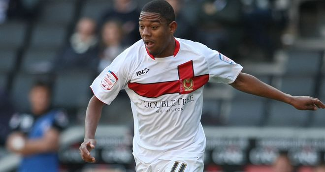 Angelo Balanta: Set for a third spell on loan at MK Dons