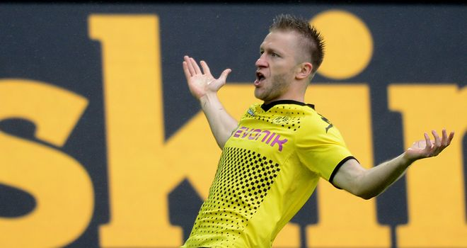 Jakub Blaszczykowski: Scored in Borussia Dortmund&#39;s cup win over Oberneuland