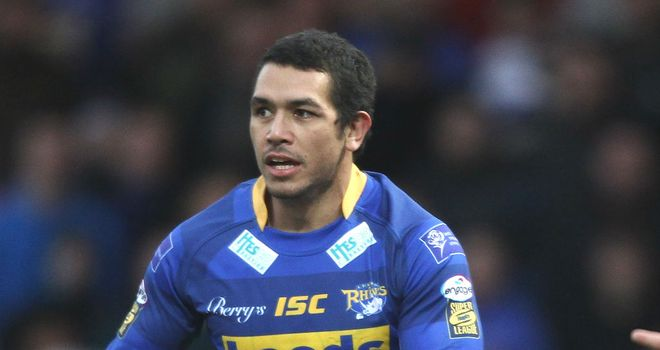 Brent Webb: scored 86 tries in 156 appearances for the Leeds Rhinos