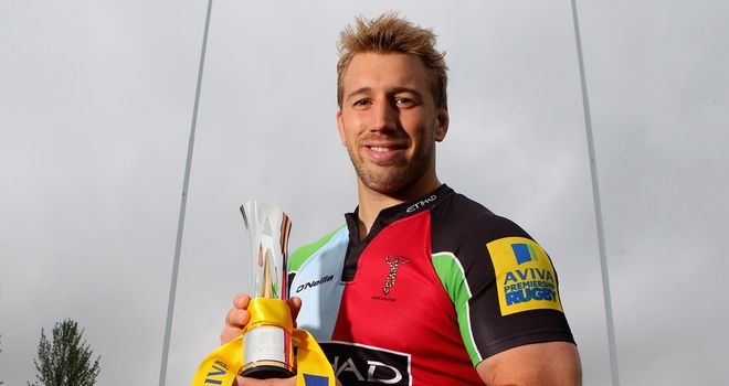Chris Robshaw: looking forward to one more big game