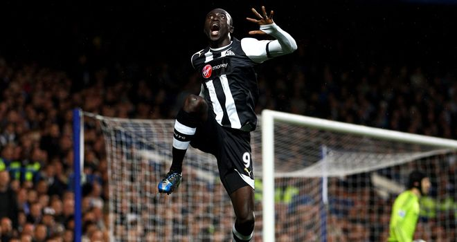 Papiss Cisse: Newcastle striker was on target for Senegal as they drew with Uganda