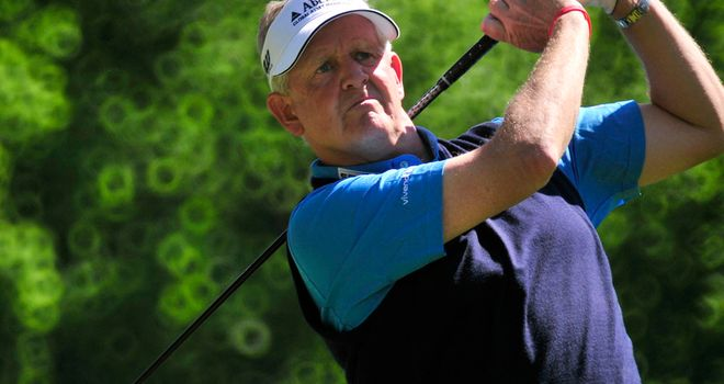 Colin Montgomerie: a runner-up in five major championships