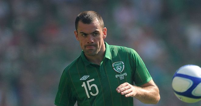 Darron Gibson: Has refused his latest call-up to Republic of Ireland squad