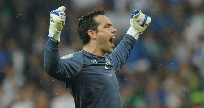 David Forde: Injured knee at weekend