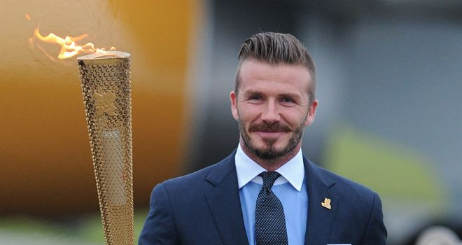 David Beckham: Was controversially omitted from Pearce&#39;s Olympic squad this week