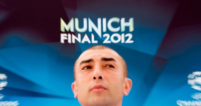 Roberto di Matteo: Chelsea boss hoping to make history in Champions League final