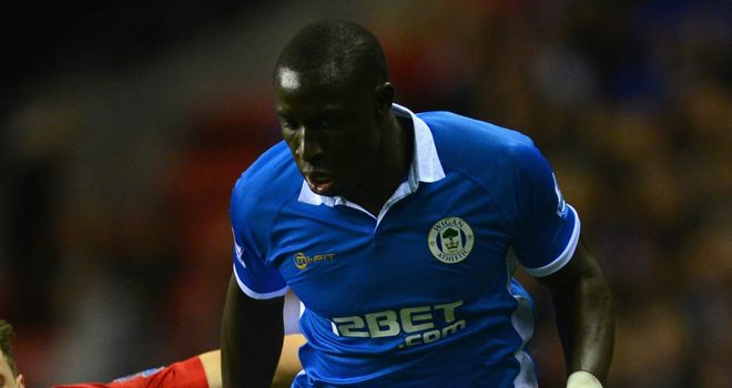 Mohamed Diame: Looking forward to showing what he can do on the pitch at Upton Park