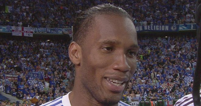 Didier Drogba: Will not be making an emotional decision in the wake of Champions League glory