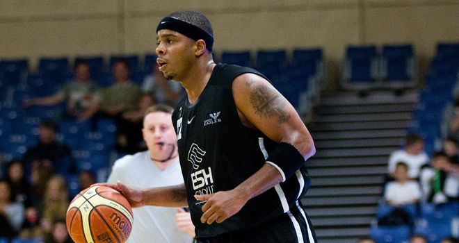 Joe Chapman: top scored for Newcastle Eagles with 19 points