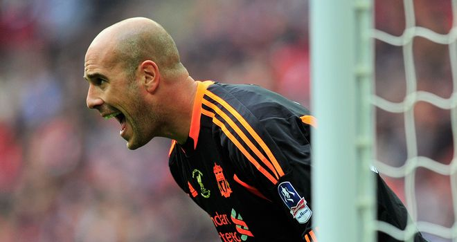 Pepe Reina: The Liverpool goalkeeper is preparing for a run of three tough home games