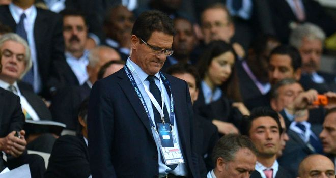 Fabio Capello: Former England boss has rejected claims he is helping Italy prepare