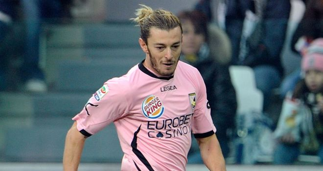Federico Balzaretti: Palermo have rejected an enquiry from Napoli for the Italy international