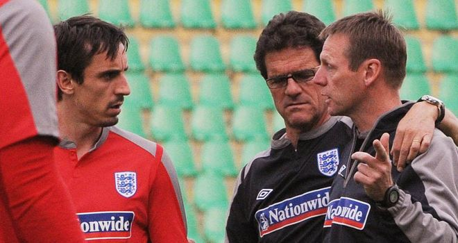 Gary Neville: Made 85 appearances for England, including five international tournaments