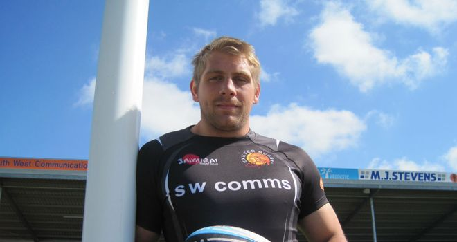 Carl Rimmer: Opportunity to impress with the Exeter Chiefs