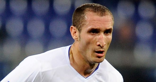 Juventus defender Giorgio Chiellini: Confident he will be fit in time for the start of Euro 2012