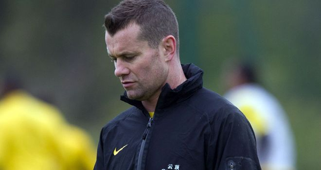 Shay Given: Missed training with the Republic after suffering from blisters