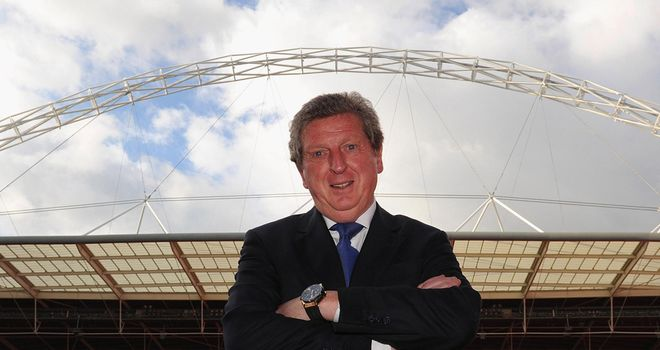 Roy Hodgson: Appointed England manager on a four-year contract after being picked by the FA
