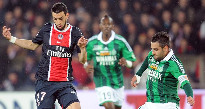 Javier Pastore: Not spoken to anyone about swap deal