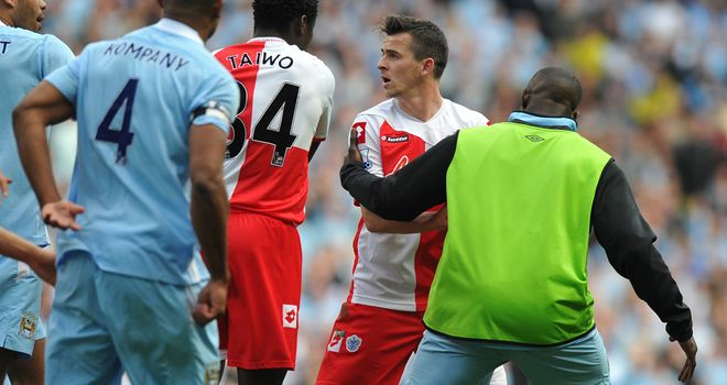 Joey Barton: Has been criticised by PFA chief executive Gordon Taylor