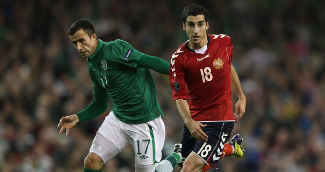 Keith Fahey: Hoping to start against Germany