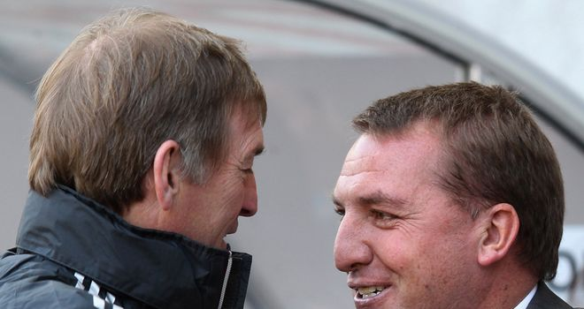 Brendan Rodgers: Will not be replacing Kenny Dalglish as Liverpool boss