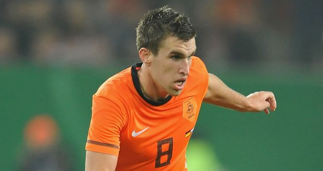 Kevin Strootman: The midfielder is being watched by Manchester United and AC Milan