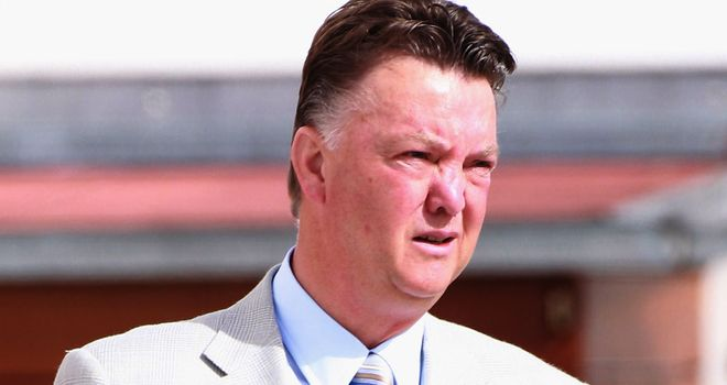 Louis van Gaal: His side are five points clear on top of Group D