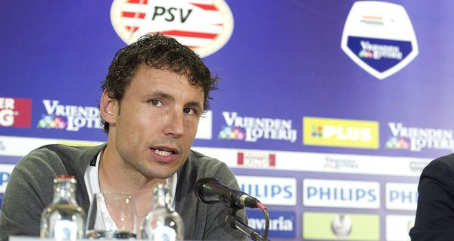 Mark Van Bommel: Welcomed back to his old stamping ground