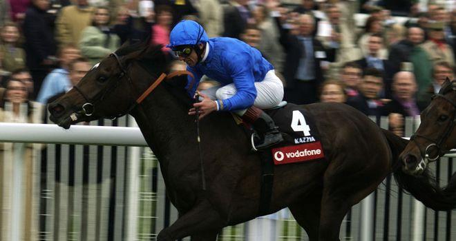 Kazzia: 1000 Guineas and Oaks winner in 2002