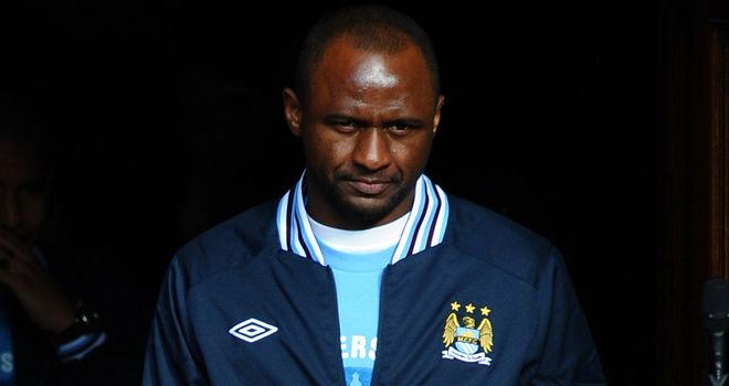 Patrick Vieira: Feels Manchester City are still finding their feet in Europe